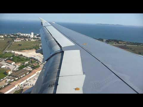 Atterrissage Hyeres Toulon