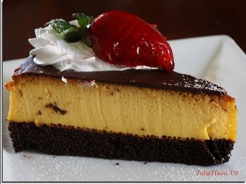 Receta De ChocoFlan O Pastel Imposible SIN HORNO Recipe for Impossible Cake or ChocoFlan