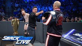 The Bar crashes Shane McMahon