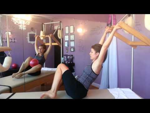 Pilates with Kathr Babcock @ healingcrown2toe.com