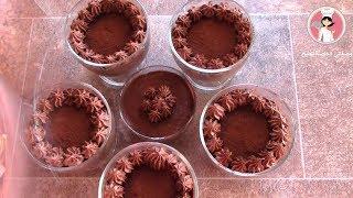مهلبية كريمية بطعم الكاكاو على الطريقة التركية اكثر من روعة مهلبية الشوكولاتة مع رباح ( الحلقة 321 )