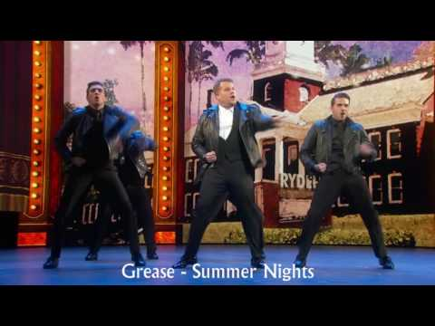 James Corden s 2016 Tony Awards Opening with musical titles