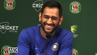 Dhoni's Joke On Virat Kohli's Batting Is Hilarious