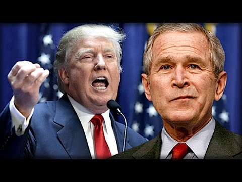 watch BREAKING: GEORGE BUSH JUST BROKE! LOOK WHAT HE SAID ABOUT DONALD TRUMP