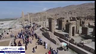 Iran Discovers Persepolis palace South gate, Marvdasht county پيداشدن دروازه جنوبي تخت جمشيد ايران