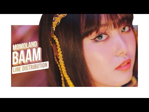 [UPDATED] MOMOLAND (모모랜드) - Baam (배엠) (Line Distribution)
