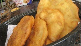 Navajo Fry Bread ( Navajo Taco & Dessert) - Diy Taco bell Chalupa