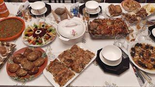 مائدة رمضان يوم رابع مع وصفتين بوراك تركي و طبق رئيسي اقتصادي لا تفوتكم