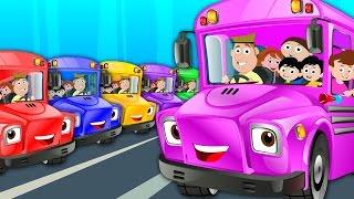 The Wheels On The Bus | Nursery Rhymes | Kids Songs