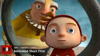 """CGI 3D Animated Short Film """"A CLOUDY LESSON"""" Cute Fantasy Animation by Ringling"""