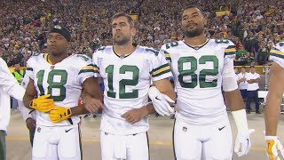 Packers Fans Deny Team's Request to Link Arms During Game As NFL Enters 'Crisis'