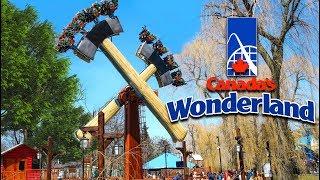 Canada's Wonderland 2018   Lumberjack New Ride!