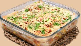 Easy Bread Lasagna Recipe   Quick Party Starter - Appetizer Idea