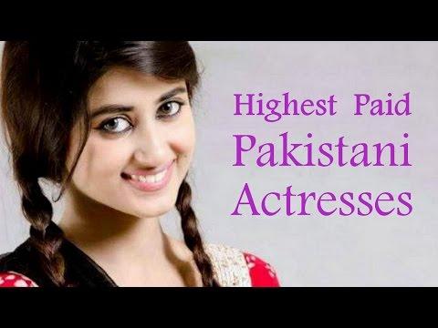 Top 10 Highest Paid Pakistani Actresses 2015