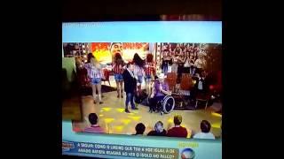 Amado Batista e Elias Wagner no Domingo Show com Geraldo Luiz da Rede Record (Gravado da TV)