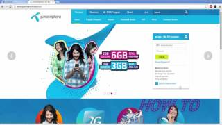 Create Free account in Grameenphone | Flexiload online, Pay Bills & Call Details