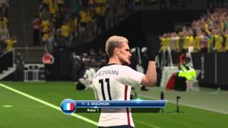 Pro Evolution Soccer 2016 griezman good goal