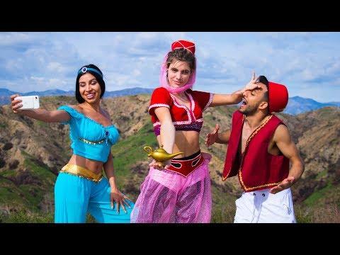 Aladdin & Genisa   Lele Pons & Anwar Jibawi