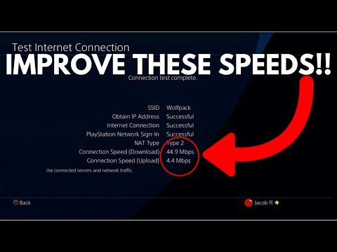 HOW TO DOUBLE YOUR PS4 DOWNLOAD SPEEDS! Faster Internet Connection! (EASY Tutorial)