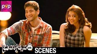 Kajal Aggarwal Argues with Mahesh Babu | Brahmotsavam Telugu Movie Scenes | Samantha | Pranitha