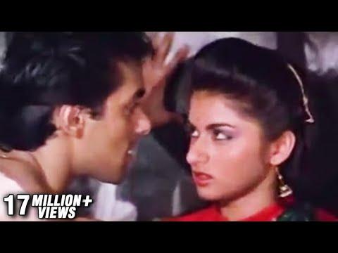 Abhi Mood Nahi Hai   Salman Khan & Bhagyashree   Maine Pyar Kiya