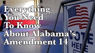 What you should know before you vote on Alabama Amendment 14