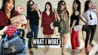 ❤️ SEVEN OUTFITS! 💃🏻 WHAT I WORE 💋💄 | CHARIS | LVlover CC