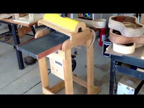 Luthier Drum Thickness Sander