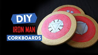 DIY IRON MAN CORKBOARDS [#CraftToWin]