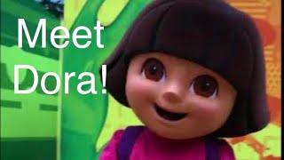 Meet and Greet Dora the Explorer Nickelodeon Universe Mall of America