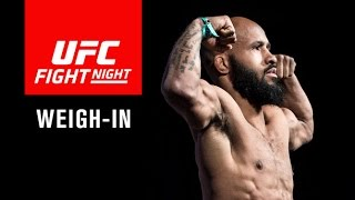 UFC Fight Night Kansas City: Official Weigh-in