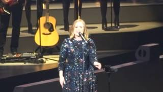 Adele When We Were Young LIVE - Genting Arena 2nd April