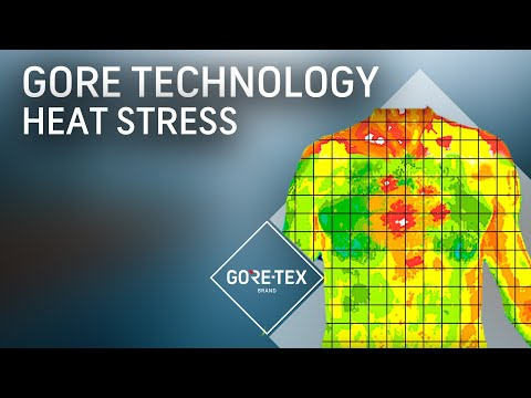 Gore Technology outperforms all others in managing heat stress