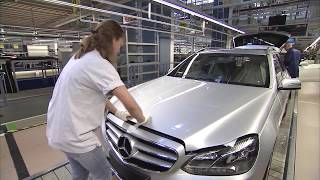 2016 Mercedes Benz E Class production in Germany (W212)