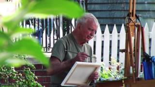 Plein Air with Peter (and Krunch)