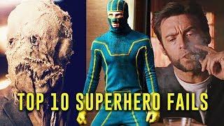 Top 10 Superhero Fails