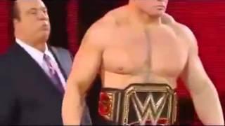 Roman Reigns vs Brock Lesnar, Wrestlemania 31, Full HD Match