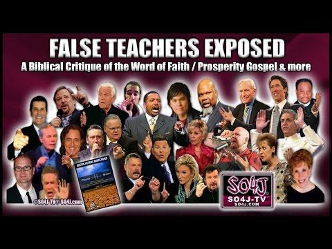 FALSE TEACHERS EXPOSED Word of Faith Prosperity Gospel Justin Peters SO4J TV