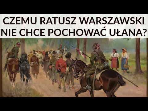 SKANDAL w Warszawie: Umarł ułan mjr Wolski - Ratusz nie chce go pochować