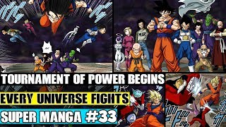 GOKU TARGETS JIREN! Tournament Begins Dragon Ball Super Manga Chapter 33 Review