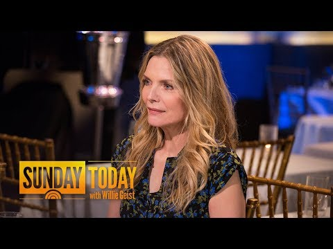 Xxx Mp4 Michelle Pfeiffer On Sexual Harassment Scandals 'I've Had Situations' Sunday TODAY 3gp Sex