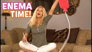 Cara's Enema- instructions how to do an enema easy & simple