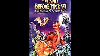 Opening To The Land Before Time VI:The Secret Of Saurus Rock 1998 VHS