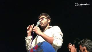 RJ Balaji Historic Speech at Marina...! #StudentPower (with English Subtitles)