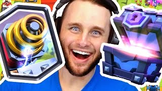 Super Magical Chests Opening | Clash Royale Legendaries (Sparky)