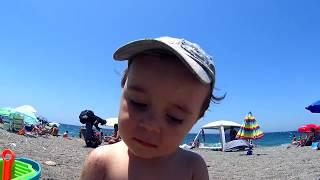 Praia, Sol e Beijos - Verão na Espanha (Praia de Salobreña em Granada)