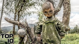 Top 10 Scary Things Found By Hikers
