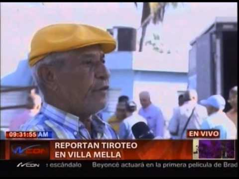 Reportan tiroteo en Villa Mella