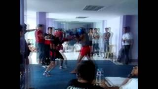 1st BJMP IV A KICKBOXING SULAGMAG VS  THE MUAY THAI