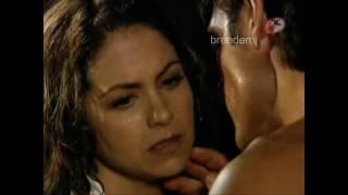 José Miguel y Valentina en la cabaña